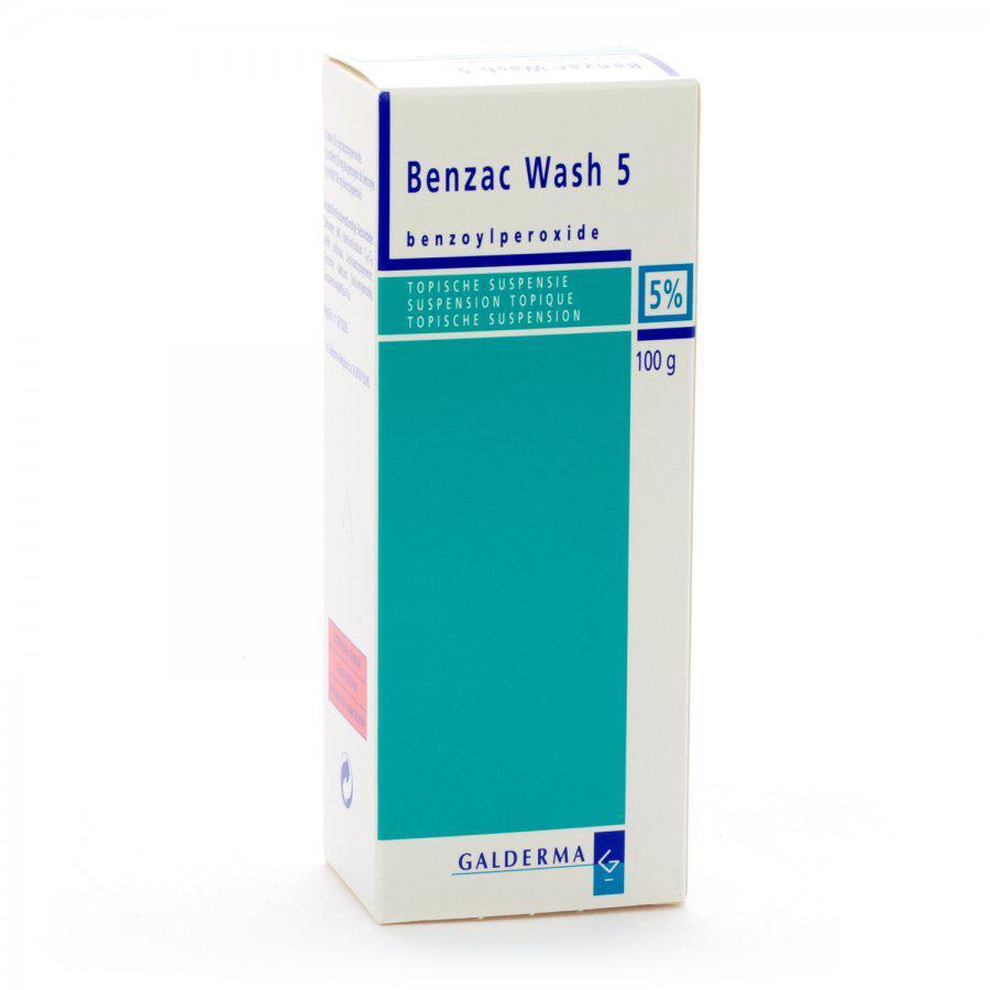 benzac benzoylperoxide tegen puistjes