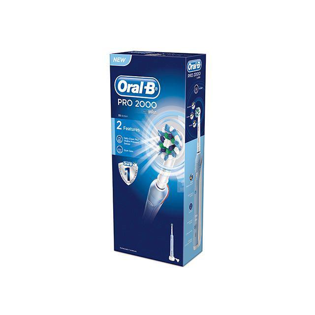 Oral-B PRO2000CROSS tandenborstel