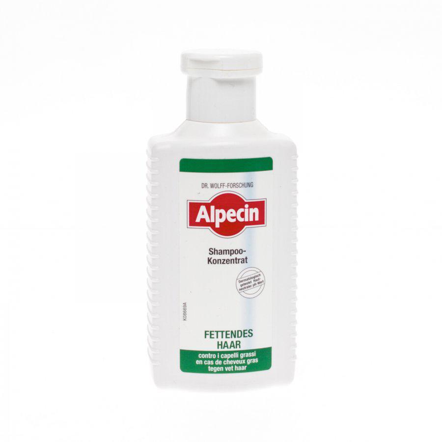 Alpecin shampoo tegen vet haar