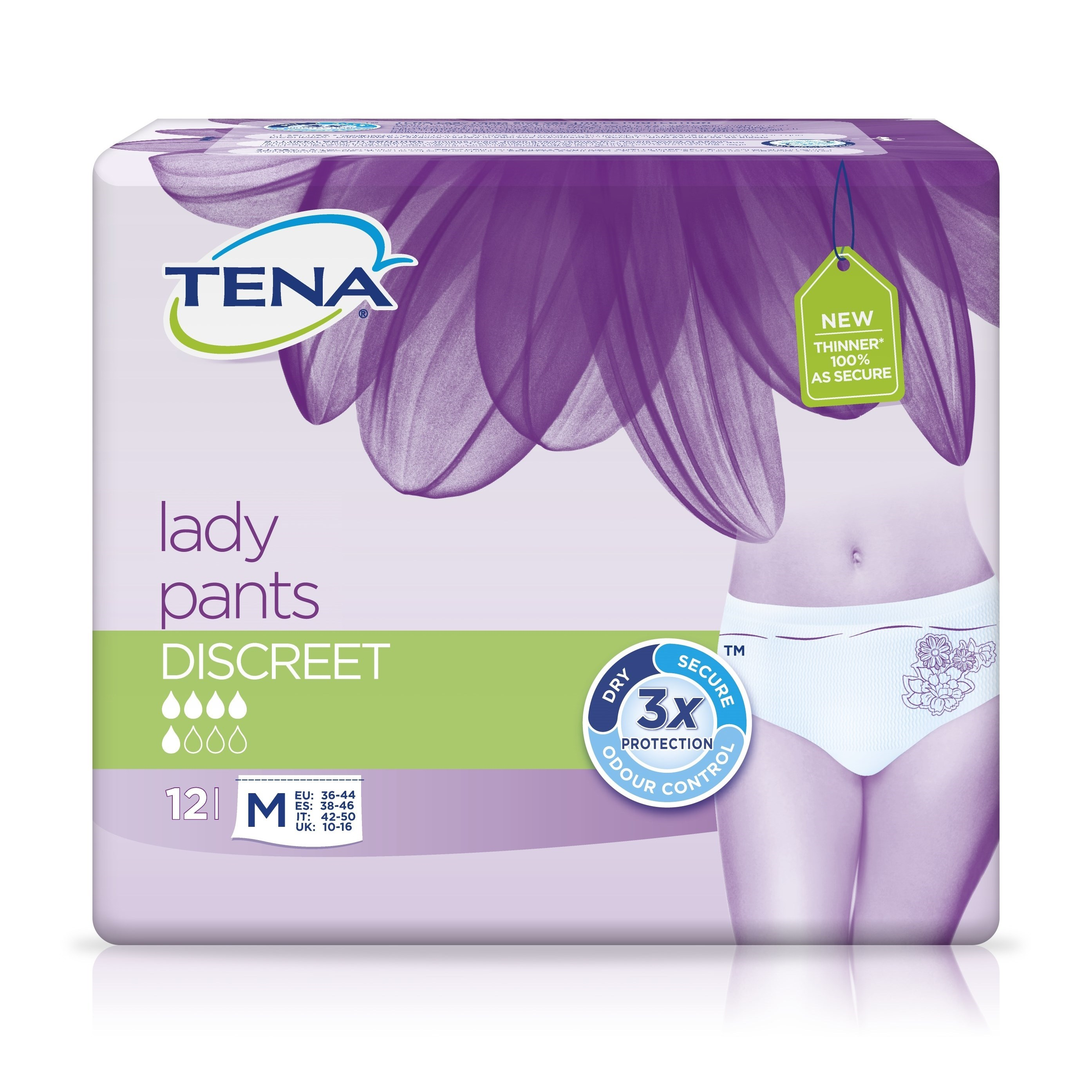 Protect underwear women discreet medium