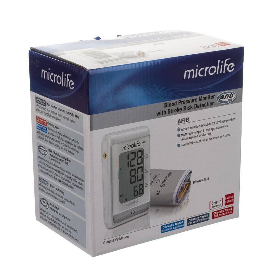 Microlife BP A150 bloeddrukmeter arm