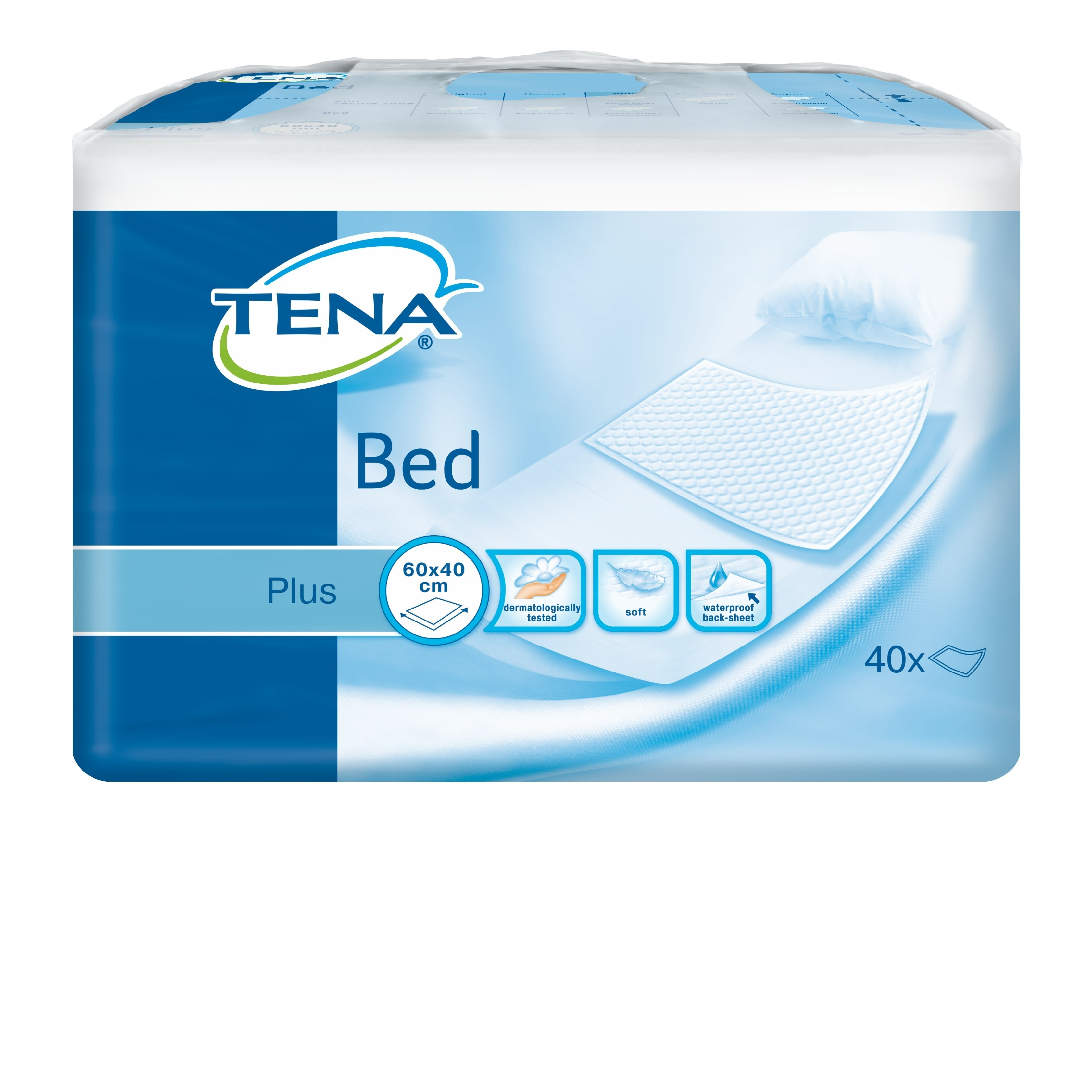 Tena Onderleggers Bed Plus 40cmx60cm