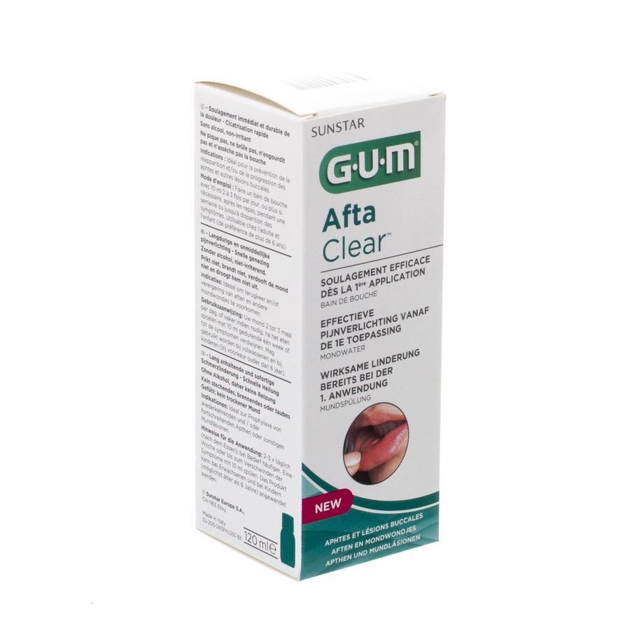 Gum aftaclear rinse