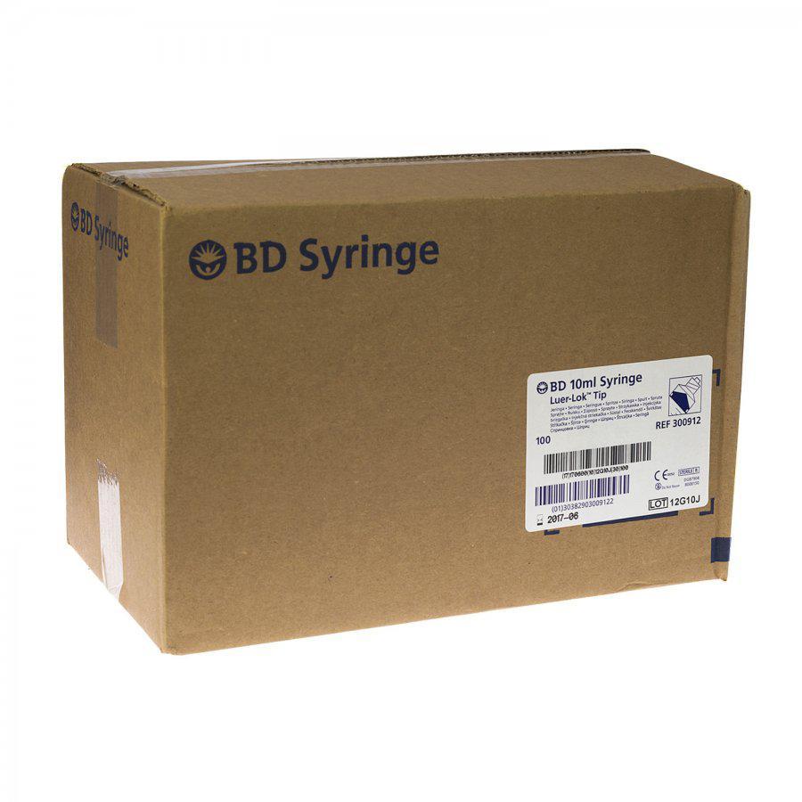 Bd Microfine Insuline Spuit Demi 03ml 30g 8mm 10 Stuks 3ml Luer Lock 10ml