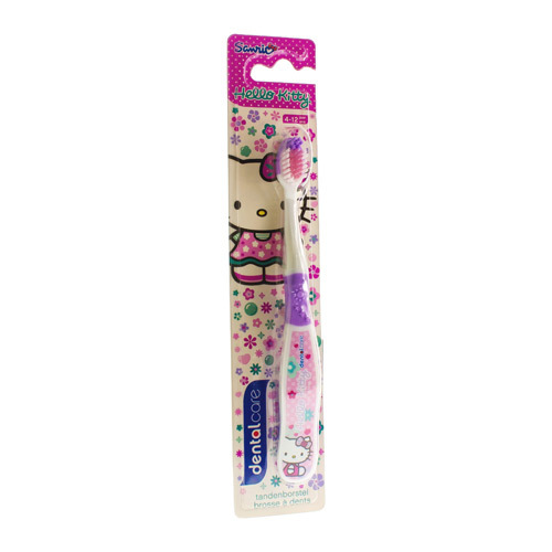 Dermo care tandborstel 5+ jr hello kitty