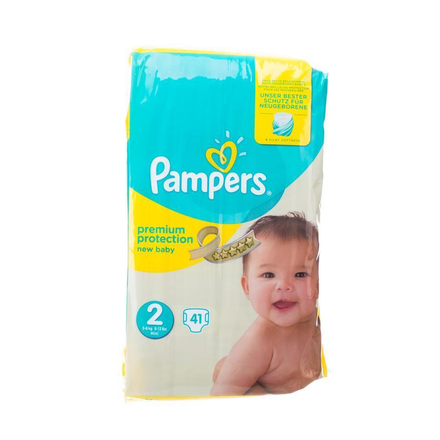 Pampers New Baby Luiers Maat 2 (3-6 kg) 41 stuks