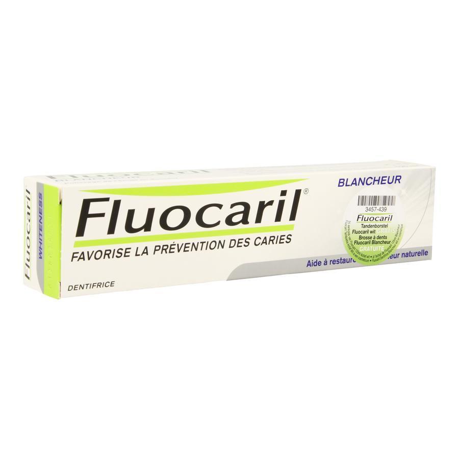 Fluocaril blancheur + brosse à dents gratuite