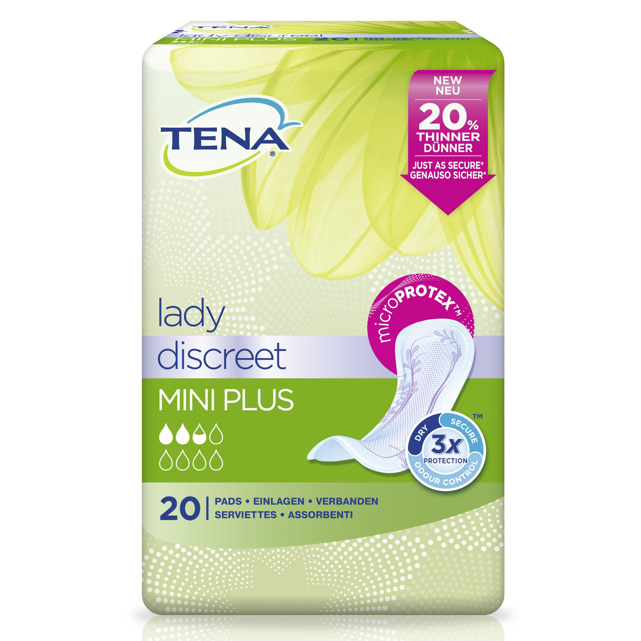 Tena Tena Lady Mini Discreet Plus 20st