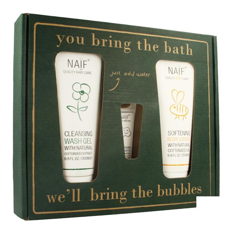 NAÏF Bubbles gift set