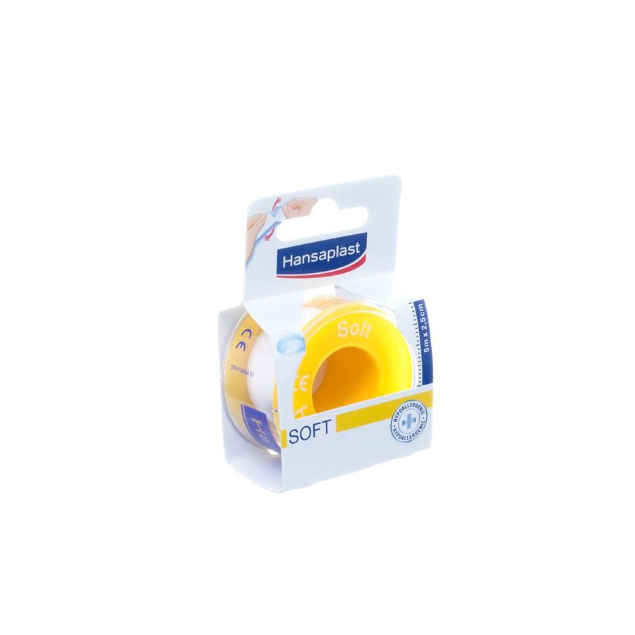 Hansaplast Hechtpleisters Soft 2,5x5m