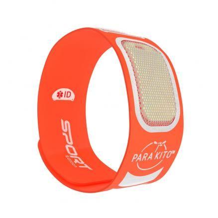 Parakito Anti-Muggen Armband Sport oranje