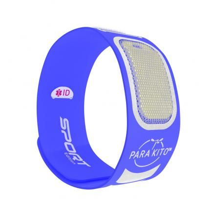 Parakito Anti-Muggen Armband Sport blauw