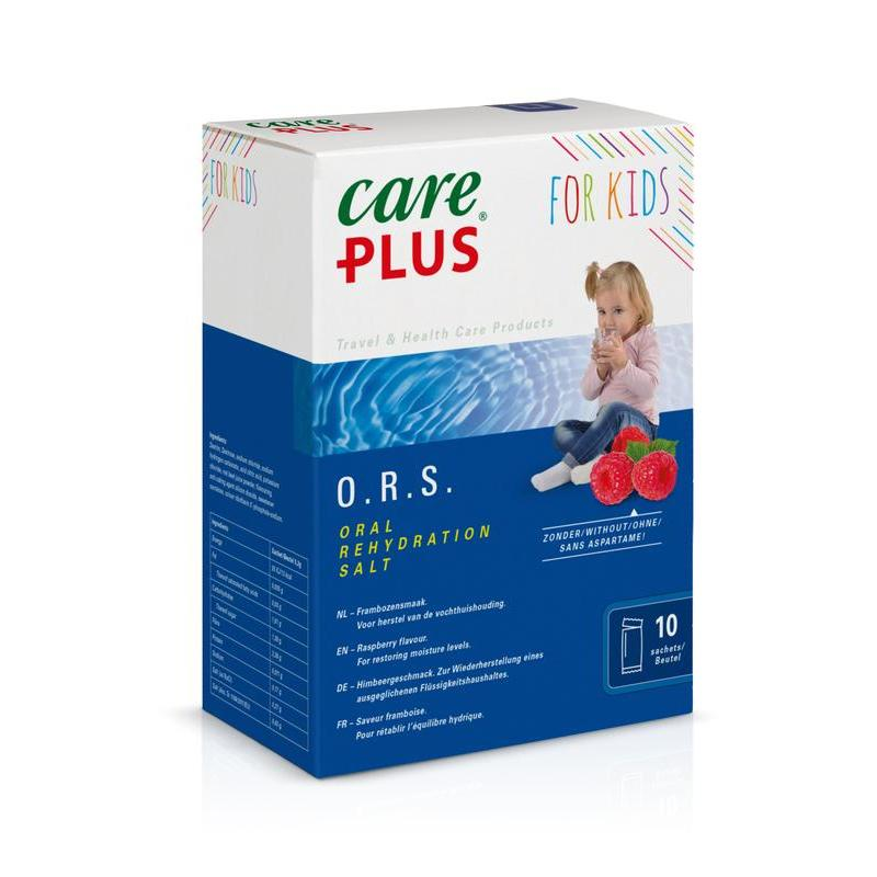 Care Plus ORS kids framboos 5,3 gr