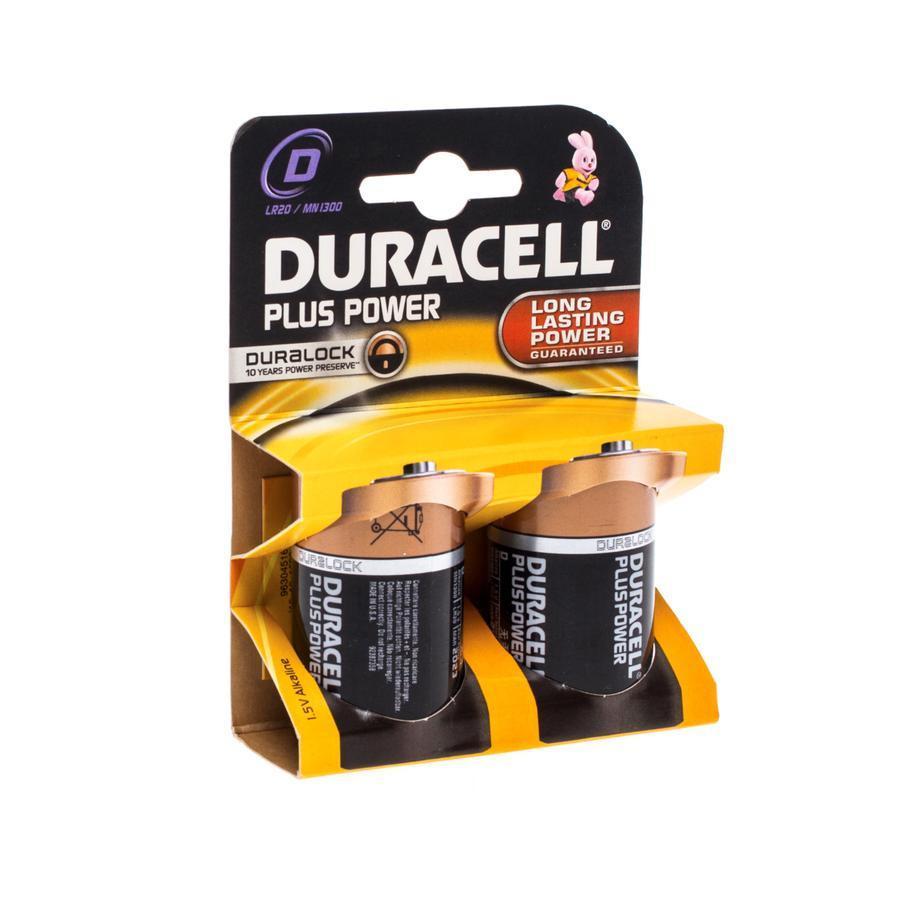 Duracell Plus Power LR20/MN1300