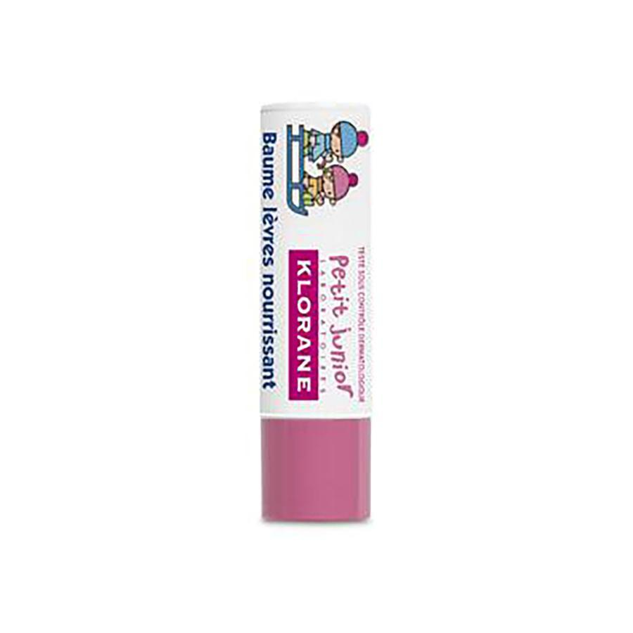 Klorane Petit Junior Voedende Lippenbalsem Met Aardbeismaak Stick 4g