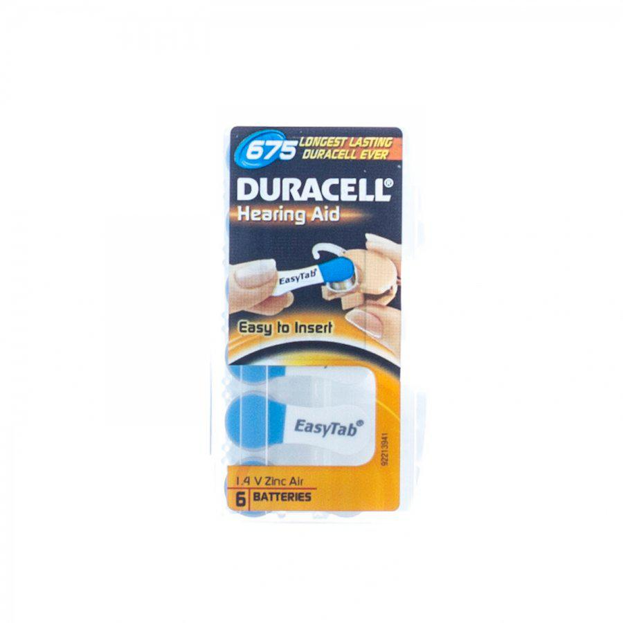 Duracell easytab r675 batterijen voor hoorapparaat