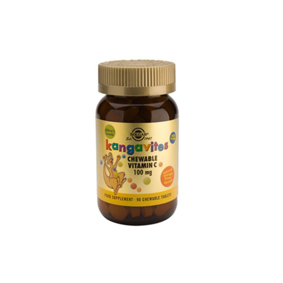 Solgar Kangavites Vitamin C 100mg