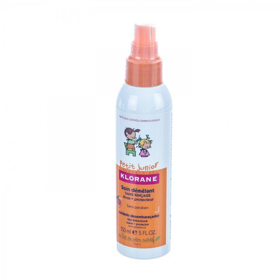 Klorane Petit Junior Ontwarrende Spray Met Perzik 125ml