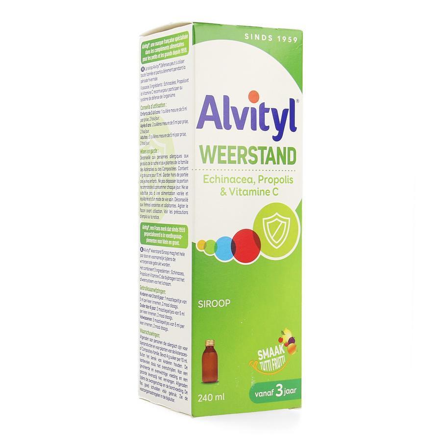 Alvityl Weerstand