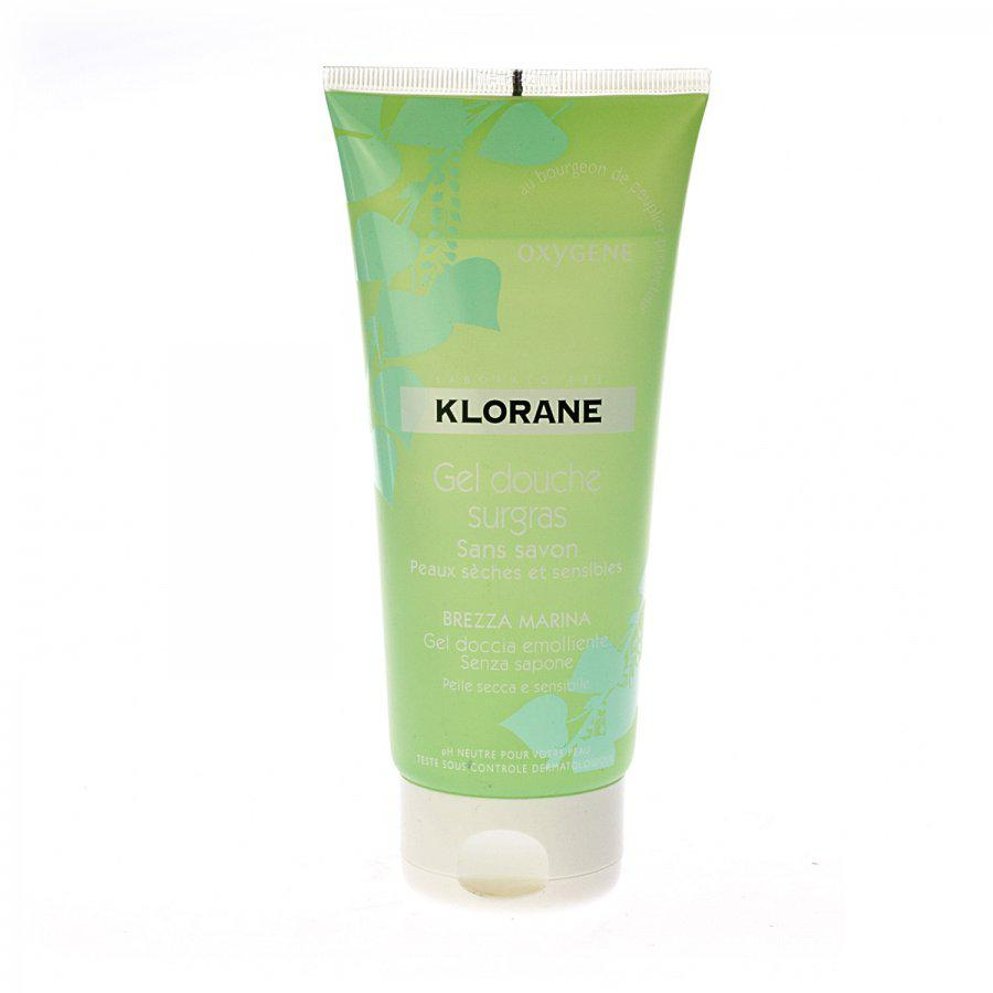 Klorane Overvette Douchegel Oxygene Tube 200ml