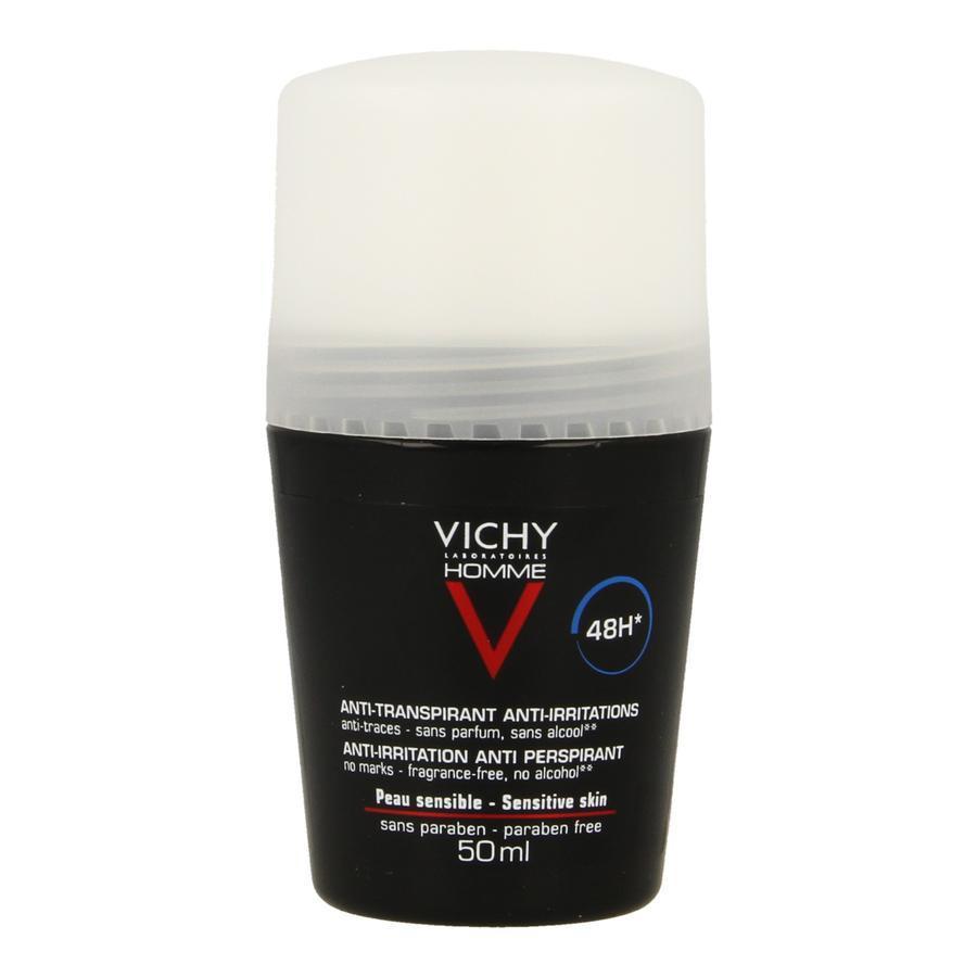 Vichy Homme Deodorant Gevoelige Huid 50ml