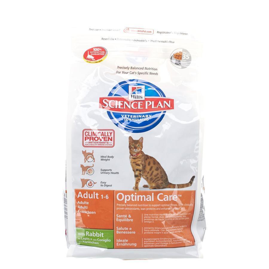 Hill's science plan feline adult optimal care koni