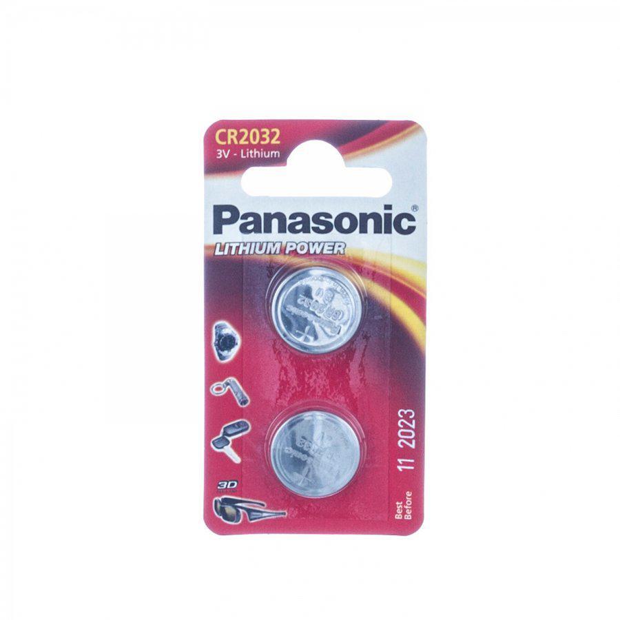 Panasonic batterij CR2032 3V