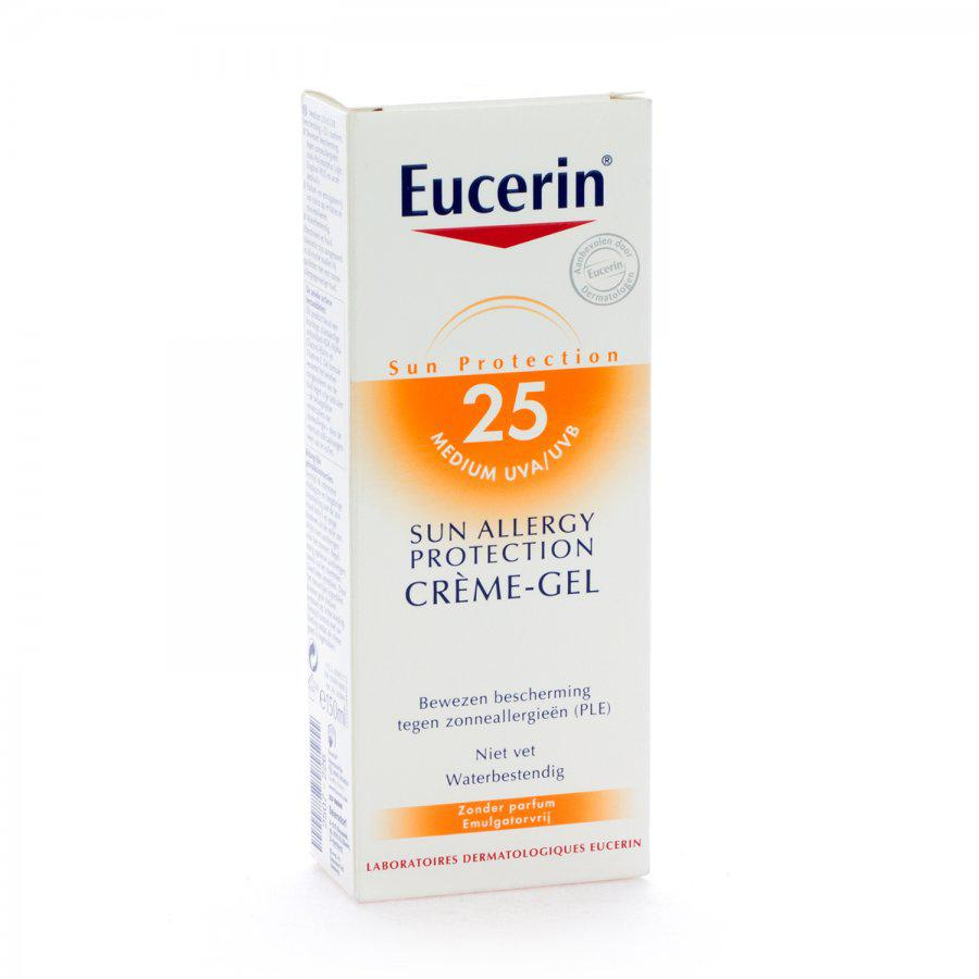 Eucerin Zonnebrand Allergy Factor(spf)25 150ml