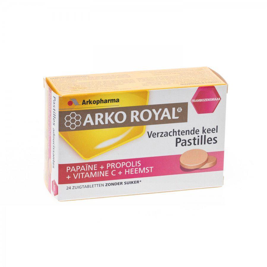 Arko Royal Pastilles framboos suikervrij