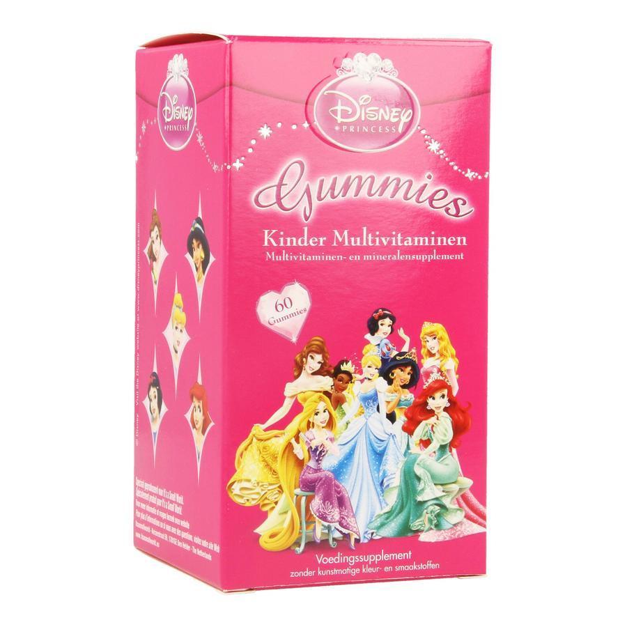 Disney Kinder Multivitaminen Princess 60stuks