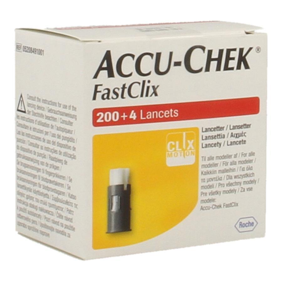 Accu Chek Fastclix Lancet Stuk