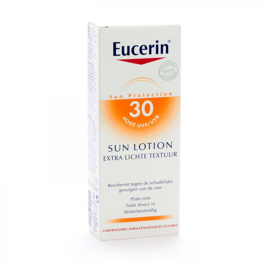 Eucerin Zonnebrand Lotion Extra Light Factor(spf)30 150ml