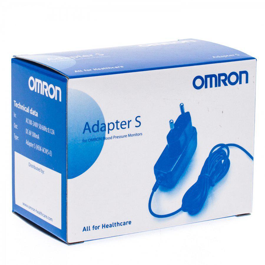 Omron Adapter Voor Bloeddrukmeter Stuk