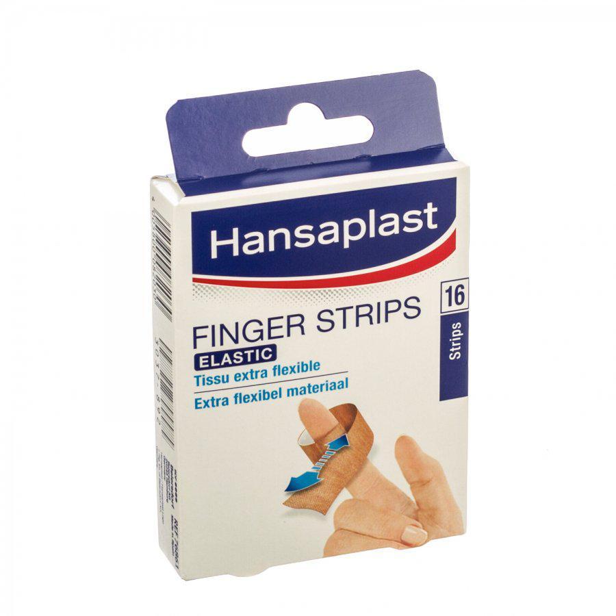 Hansaplast Pleisters Strips Vinger 76861 16stuks