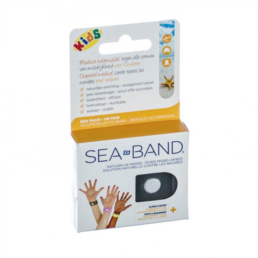Sea-band Voor Kinderen Tegen Reisziekte 2stuk