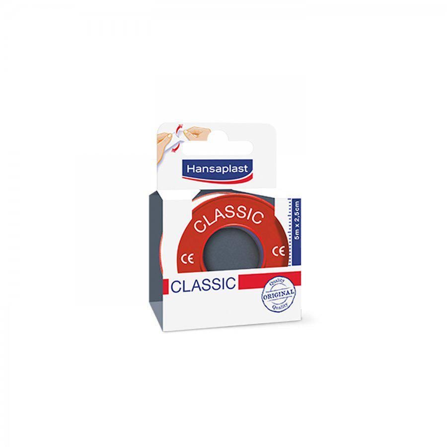 Hansaplast Hechtpleisters Classic 2.5x5m