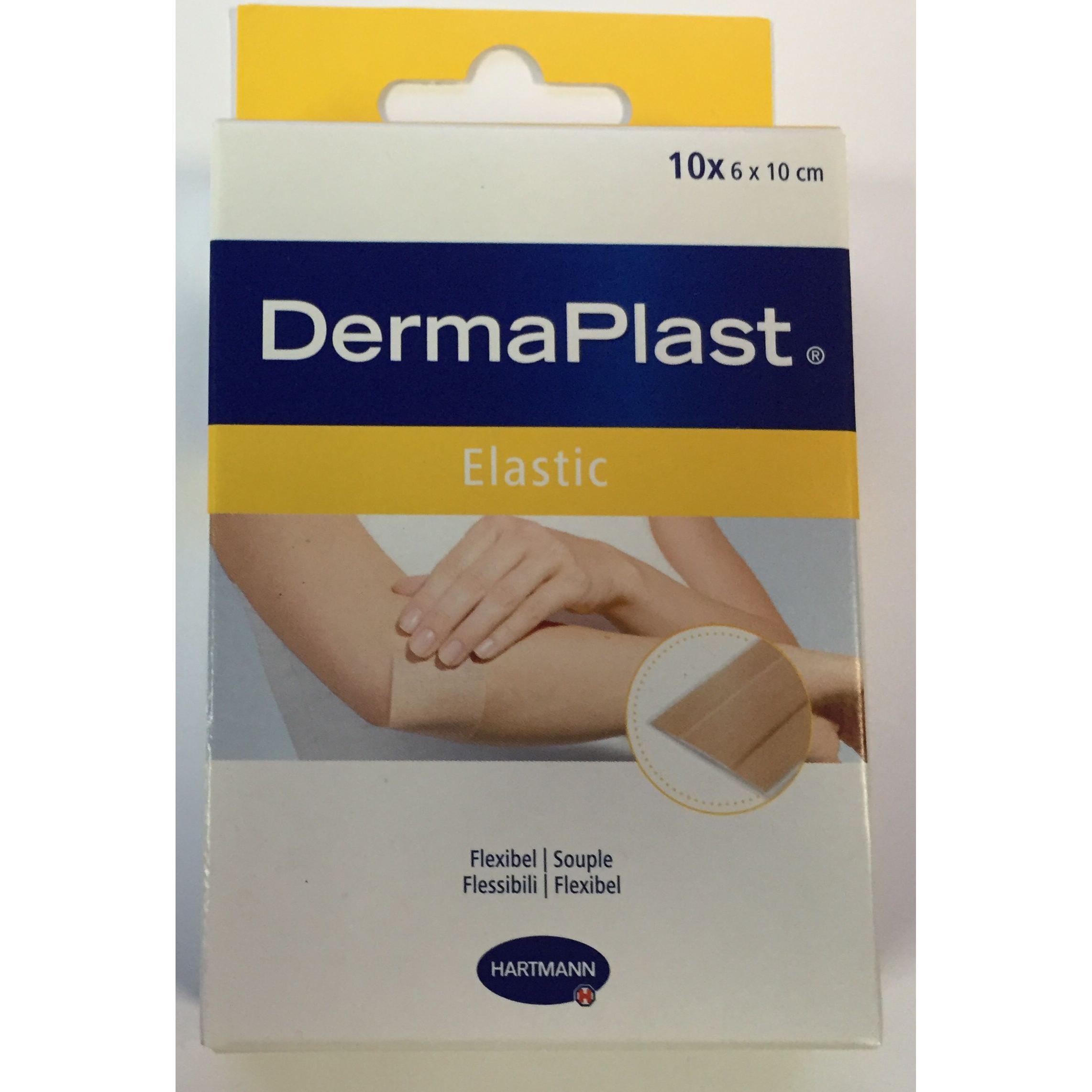 DermaPlast elastic flasteri a10