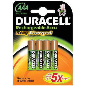 Duracell StayCharged batterij oplaadbaar hr6 AA